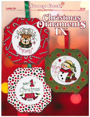 click here to view larger image of Christmas Ornaments IX (chart)