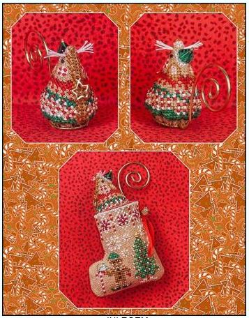 click here to view larger image of Gingerbread Elf Mouse (Limited Edition) (chart)