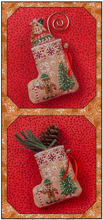 click here to view larger image of Gingerbread Elf Mouse Stocking (chart)