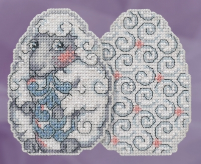 click here to view larger image of Sheep Egg (counted cross stitch kit)