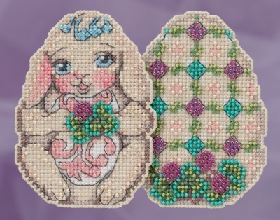 click here to view larger image of Bunny Egg (counted cross stitch kit)