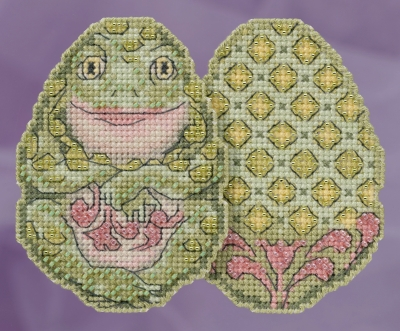 click here to view larger image of Frog Egg (counted cross stitch kit)