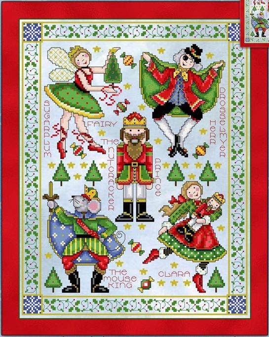 click here to view larger image of Nutcracker Sampler (chart)