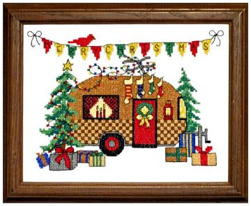 click here to view larger image of Christmas Camper (chart)