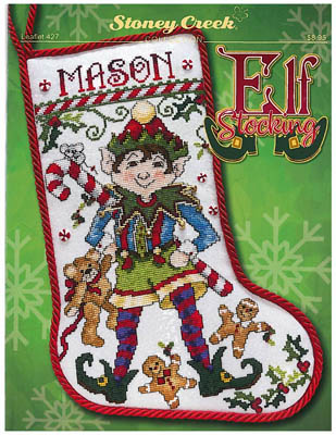 click here to view larger image of Elf Stocking (chart)