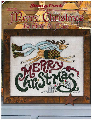click here to view larger image of Merry Christmas Reindeer and Mice (chart)