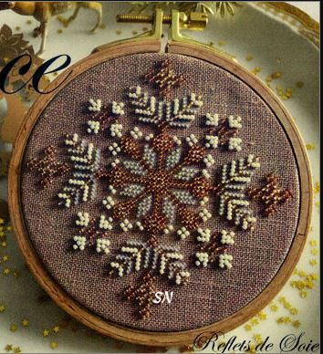 click here to view larger image of Peace Ornament (bead kit)