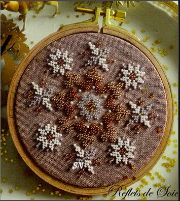 click here to view larger image of Joy Ornament (bead kit)