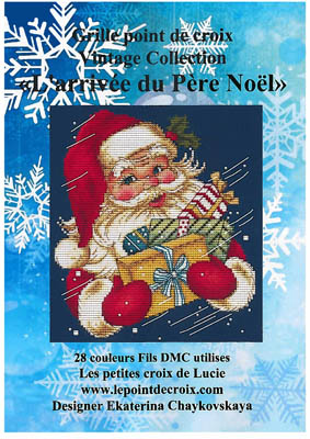 click here to view larger image of L'arrivee Du Pere Noel (chart)