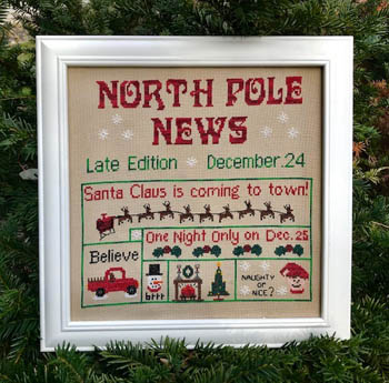 click here to view larger image of North Pole News (chart)