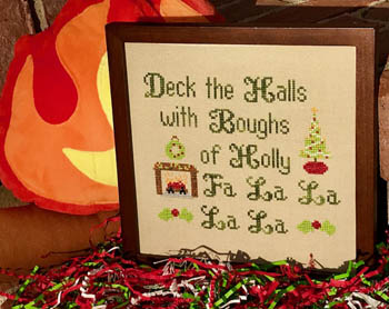 click here to view larger image of Deck The Halls (chart)