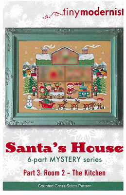 click here to view larger image of Santa's House Part 3 (chart)