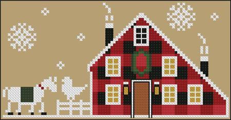 click here to view larger image of Little House - Rustic Christmas Series (chart)