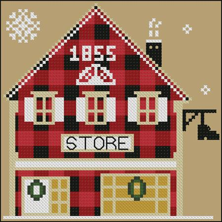 click here to view larger image of Store - Rustic Christmas Series (chart)