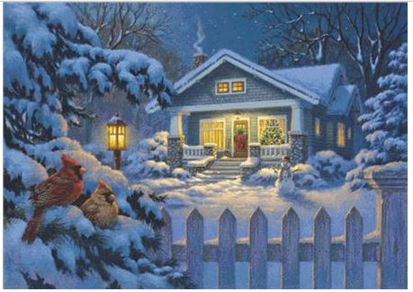 click here to view larger image of Christmas Bungalow (chart)