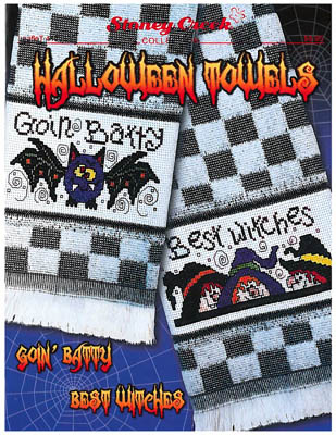 click here to view larger image of Halloween Towels (chart)