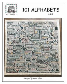 click here to view larger image of 101 Alphabets (chart)