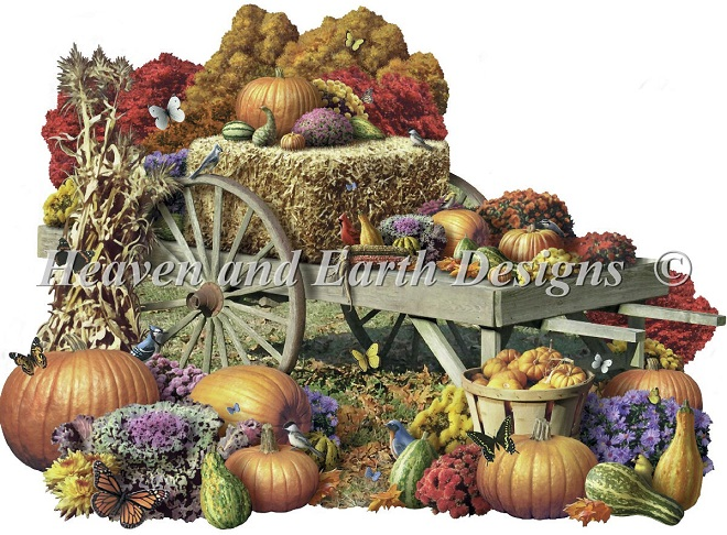 click here to view larger image of Fall Harvest - large format (chart)