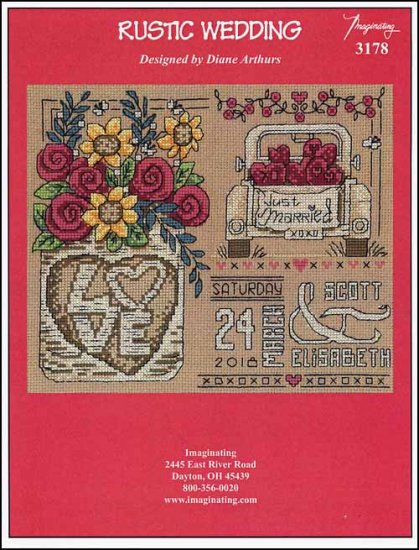 click here to view larger image of Rustic Wedding (chart)