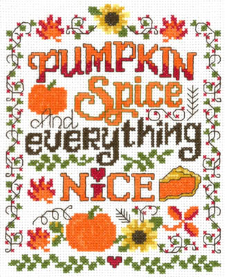 click here to view larger image of Pumpkin Spice (chart)