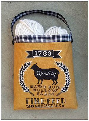click here to view larger image of Sheep Feed Sack (chart)