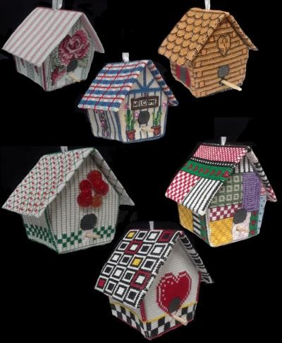 click here to view larger image of 3D Birdhouses (chart)