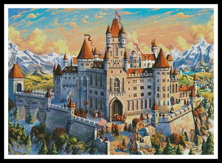 click here to view larger image of Magnificent Castle (chart)