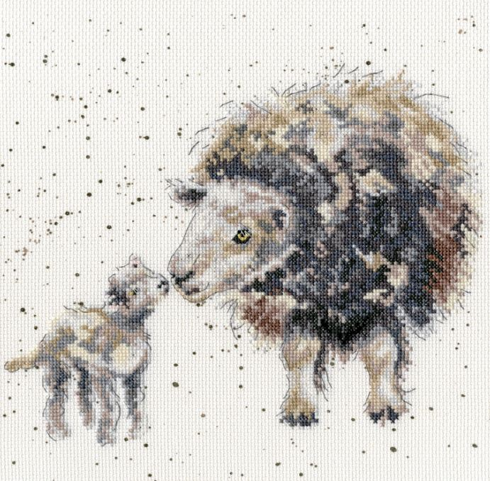 click here to view larger image of Ewe and Me (counted cross stitch kit)