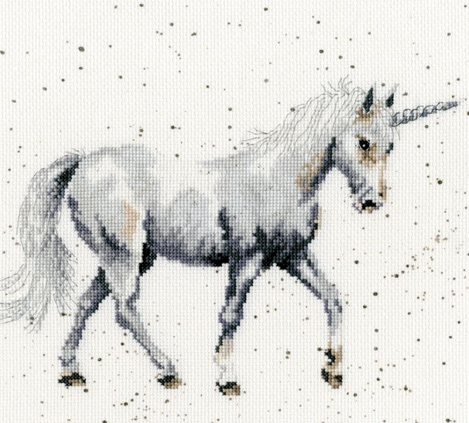 click here to view larger image of Believe in Magic (counted cross stitch kit)