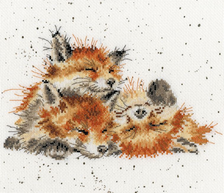 click here to view larger image of Afternoon Nap - Hannah Dale (counted cross stitch kit)