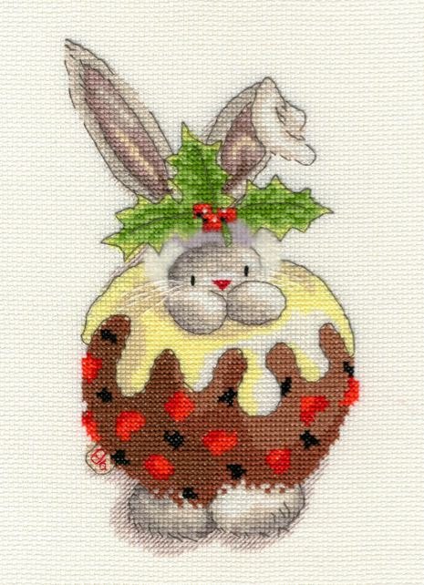 click here to view larger image of Christmas Pudding (counted cross stitch kit)