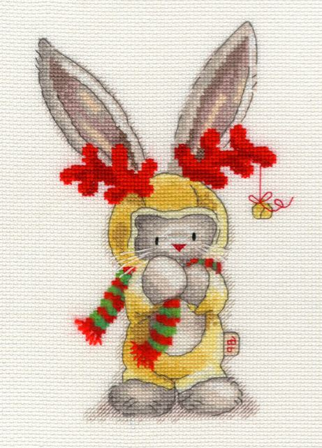 click here to view larger image of Rudolf (counted cross stitch kit)
