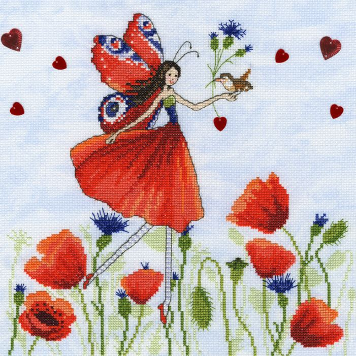click here to view larger image of Summer Meadow (counted cross stitch kit)