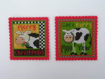click here to view larger image of Two Merry Moos Kit (chart)