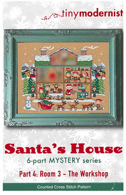 click here to view larger image of Santa's House Part 4 (chart)
