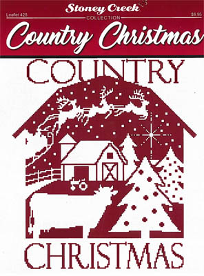 click here to view larger image of Country Christmas (chart)