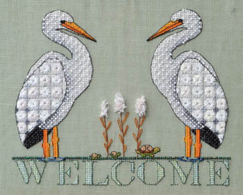 click here to view larger image of Stork Welcome (chart)