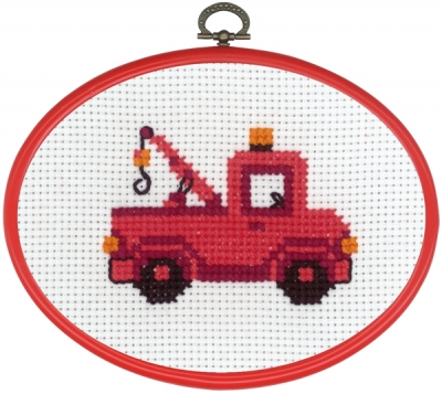 click here to view larger image of MFK Truck (counted cross stitch kit)