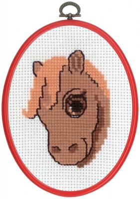 click here to view larger image of MFK Horse (counted cross stitch kit)