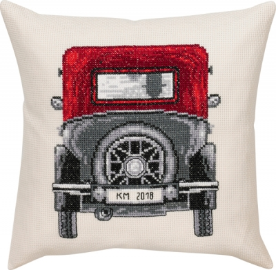 click here to view larger image of Ford Model T - Cushion (counted cross stitch kit)