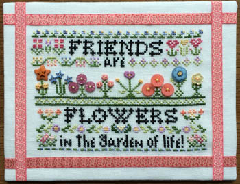 click here to view larger image of Friends are Flowers (chart)