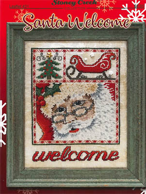 click here to view larger image of Santa Welcome (chart)