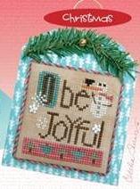 click here to view larger image of Merry Making Mini - O Be Joyful (w/embellishments) (chart)
