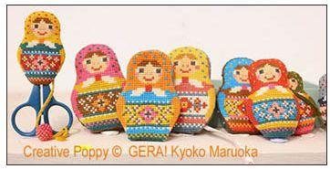 click here to view larger image of Matryoshka Needlework Set (chart)