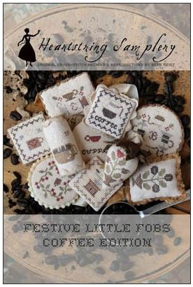 click here to view larger image of Festive Little Fobs 12 - Coffee Edition (chart)