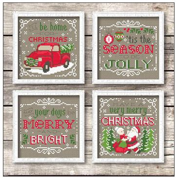 click here to view larger image of Christmas Signs (chart)