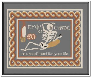 click here to view larger image of Skeleton Mosaic (chart)