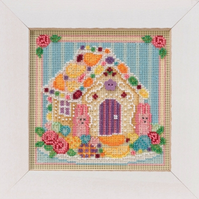 click here to view larger image of Sugar Cookie House (button-bead kit)