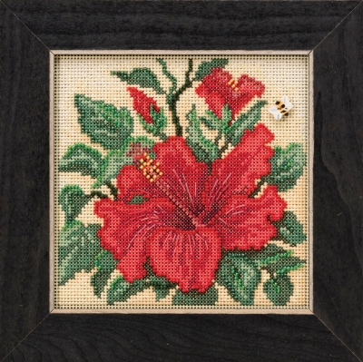 click here to view larger image of Hibiscus (button-bead kit)