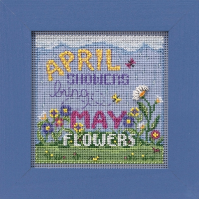 click here to view larger image of April Showers (button-bead kit)